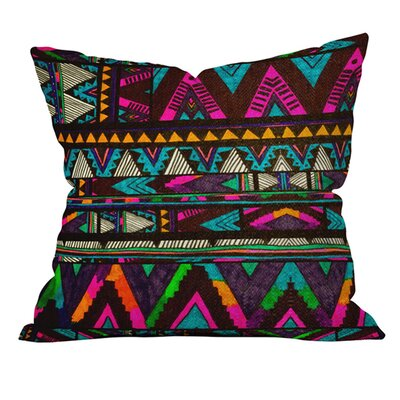 Kris Tate Huipil 1 Outdoor Throw Pillow
