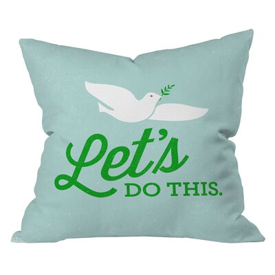 Nick Nelson Lets Do This Outdoor Throw Pillow