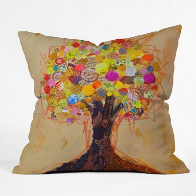Elizabeth St Hilaire Nelson Summer Tree Throw Pillow Size: Small