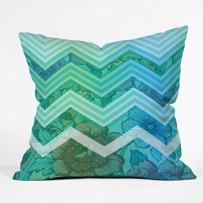 Chevron Throw Pillow Size: Large