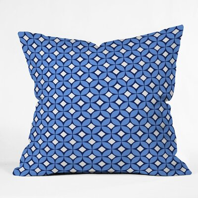 Throw Pillow Size: Large, Color: Blueberry