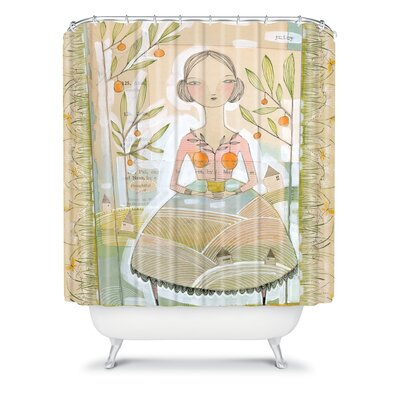 Donmoyer Always Thoughtful Shower Curtain
