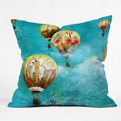 Land Of Lulu Throw Pillow Size: Extra Large