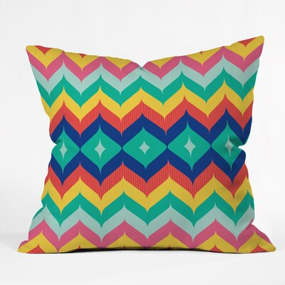 Juliana Curi Throw Pillow Size: Large