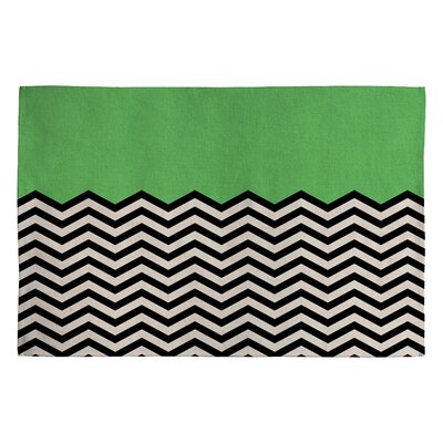 Bianca Green This Way Area Rug Rug Size: 2 x 3