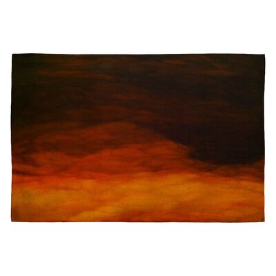 John Turner Jr Abstract Sun Outdoor Area Rug Rug Size: 2 x 3