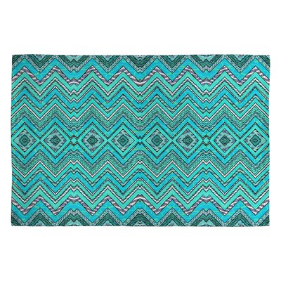 Ingrid Padilla Turquoise Area Rug Rug Size: 2 x 3
