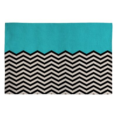 Bianca Green Follow The Sky Area Rug Rug Size: 2 x 3