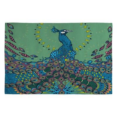 Geronimo Studio Peacock 1 Novelty Rug Rug Size: 2 x 3