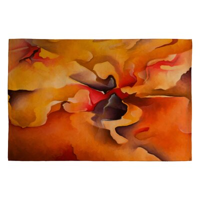 Brian Wall Fine Art Morning Glory Area Rug Rug Size: 2 x 3