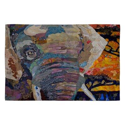 Elizabeth St Hilaire Nelson Elephant Novelty Rug Rug Size: 2 x 3