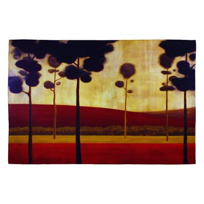 Conor ODonnell Tree Study 12 Novelty Rug Rug Size: 2 x 3