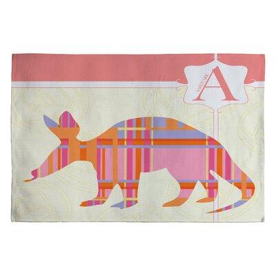 Jennifer Hill Miss Aardvark Kids Rug Rug Size: 2 x 3