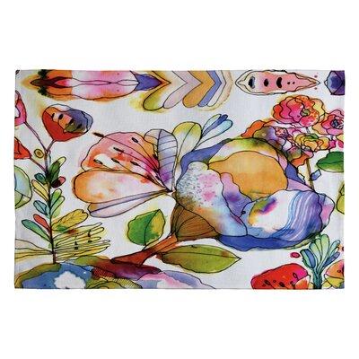 Cayenablanca Blossom Pastel Novelty Rug Rug Size: 2 x 3