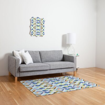 Cayenablanca Geo Pastels Area Rug Rug Size: 2 x 3