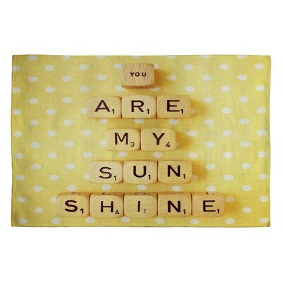 Happee Monkee You Are My Sunshine Novelty Rug Rug Size: 2 x 3
