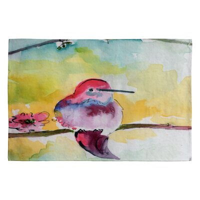 Humminbird Novelty Rug Rug Size: 2 x 3