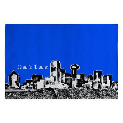 Bird Ave Dallas Royal Novelty Rug Rug Size: 2' x 3'