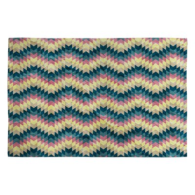 Belle13 Crazy Chevron Area Rug Rug Size: 2' x 3'
