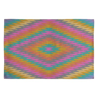 Bianca Green Ancient Rainbow Area Rug Rug Size: 2 x 3