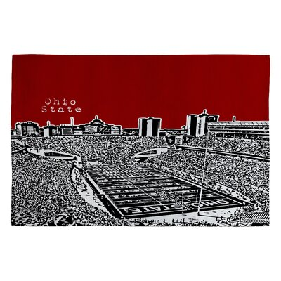 Bird Ave Ohio State Buckeyes Novelty Rug Rug Size: 2 x 3