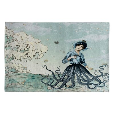 Belle13 Sea Fairy Novelty Area Rug Rug Size: 2 x 3