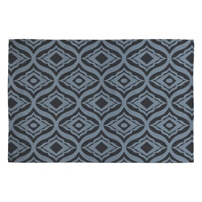 Heather Dutton Dusk Trevino Black/Gray Geometric Area Rug Rug Size: 2 x 3
