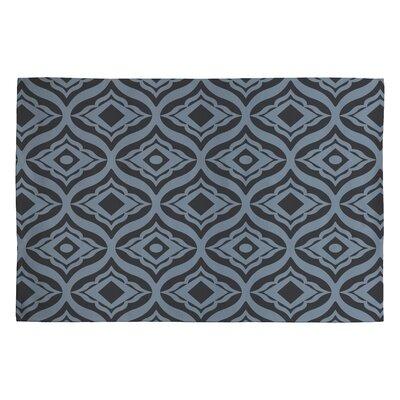 Heather Dutton Dusk Trevino Black/Gray Geometric Area Rug Rug Size: 2 x 3