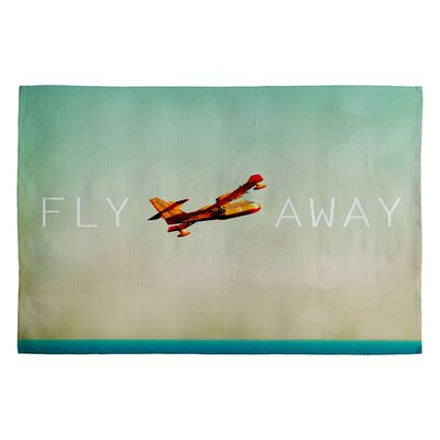 Happee Monkee Fly Away Novelty Rug Rug Size: 2 x 3