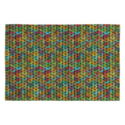Betsy Olmsted Acid Knit Area Rug Rug Size: 2 x 3