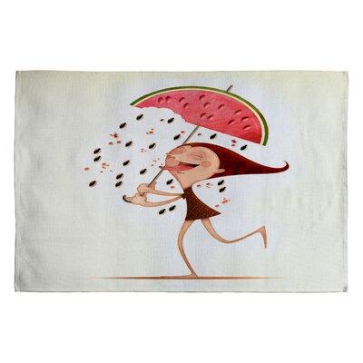Jose Luis Guerrero Watermelon Novelty Rug Rug Size: 2 x 3