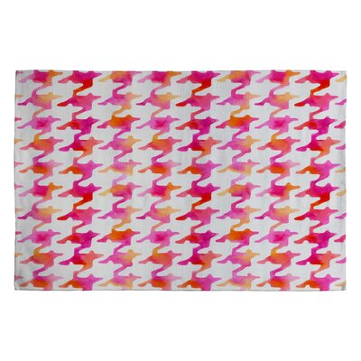 Betsy Olmsted Watercolor Houndstooth Area Rug Rug Size: 2 x 3