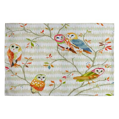 Betsy Olmsted Owl Tree 2 Novelty Rug Rug Size: 2 x 3