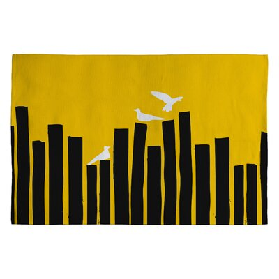 On The Fence Novelty Rug Rug Size: 2 x 3