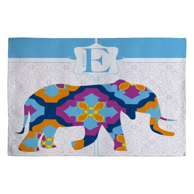 Jennifer Hill Elephant 3 Kids Rug Rug Size: 2 x 3