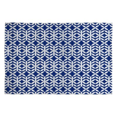 Holli Zollinger Copenhagen Blue Geometric Area Rug Rug Size: 2 x 3