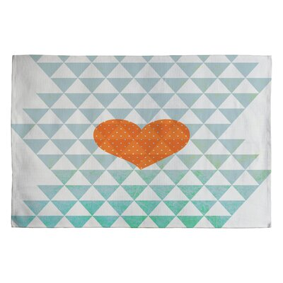 Hello Twiggs A Love Affair Blue Area Rug Rug Size: 2 x 3