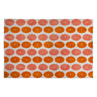 Holli Zollinger Annapurna Orange Geomatric Area Rug Rug Size: 2 x 3