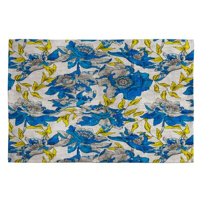 Holli Zollinger Summertime Floral and plants Area Rug Rug Size: 2 x 3