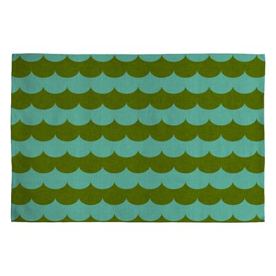 Holli Zollinger Green Striped Area Rug Rug Size: 2 x 3