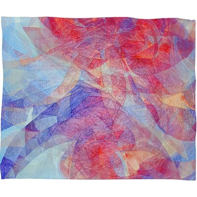 Jacqueline Maldonado Sweet Rift Throw Blanket Size: Small