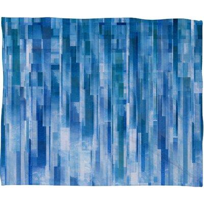 Jacqueline Maldonado Rain Throw Blanket Size: 60 H x 80 W