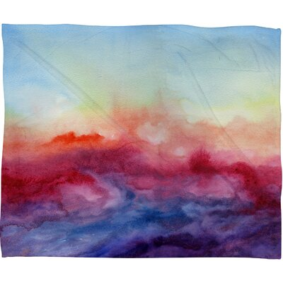 Jacqueline Maldonado Arpeggi Throw Blanket Size: Large