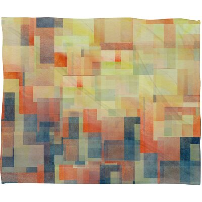 Jacqueline Maldonado Cubism Dream Throw Blanket Size: Large