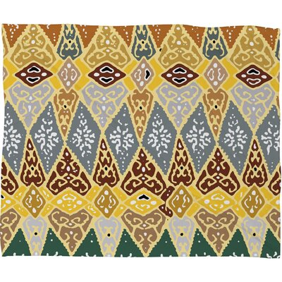 Romi Vega Diamond Tile Throw Blanket Size: Large