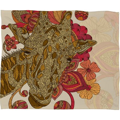 Valentina Ramos The Giraffe Throw Blanket Size: Medium