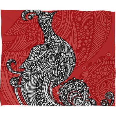 Valentina Ramos The Bird Throw Blanket Size: Small