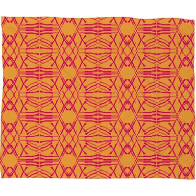 Pattern State Throw Blanket Size: Medium