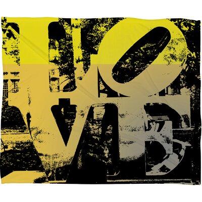 Amy Smith Philadelphia Love Throw Blanket Size: Medium