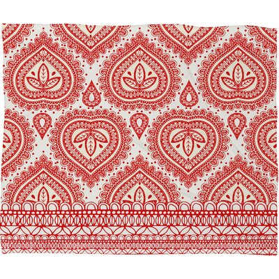 Aimee St Hill Decorative Throw Blanket Size: Small, Color: Coral